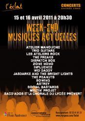 Week-end Musiques Actuelles
